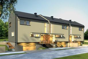 Projekty domów z możliwością szeregowania