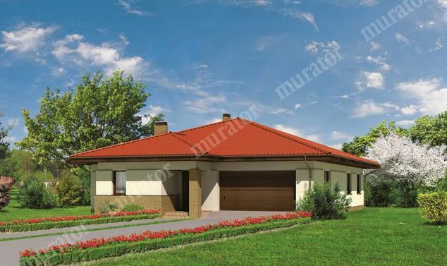 Projekt domu:  Murator M47   – Kwitnąca wiśnia